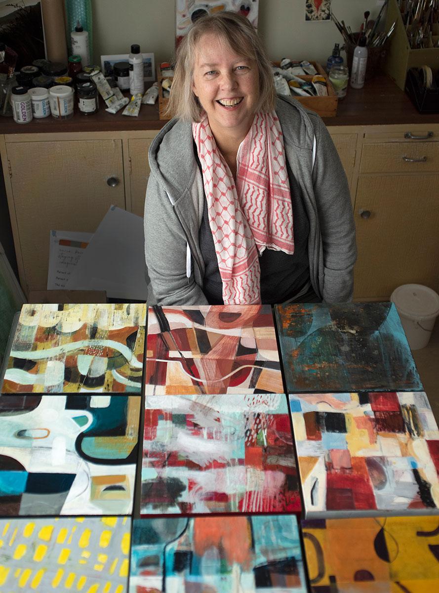 Jane Galloway Portrait