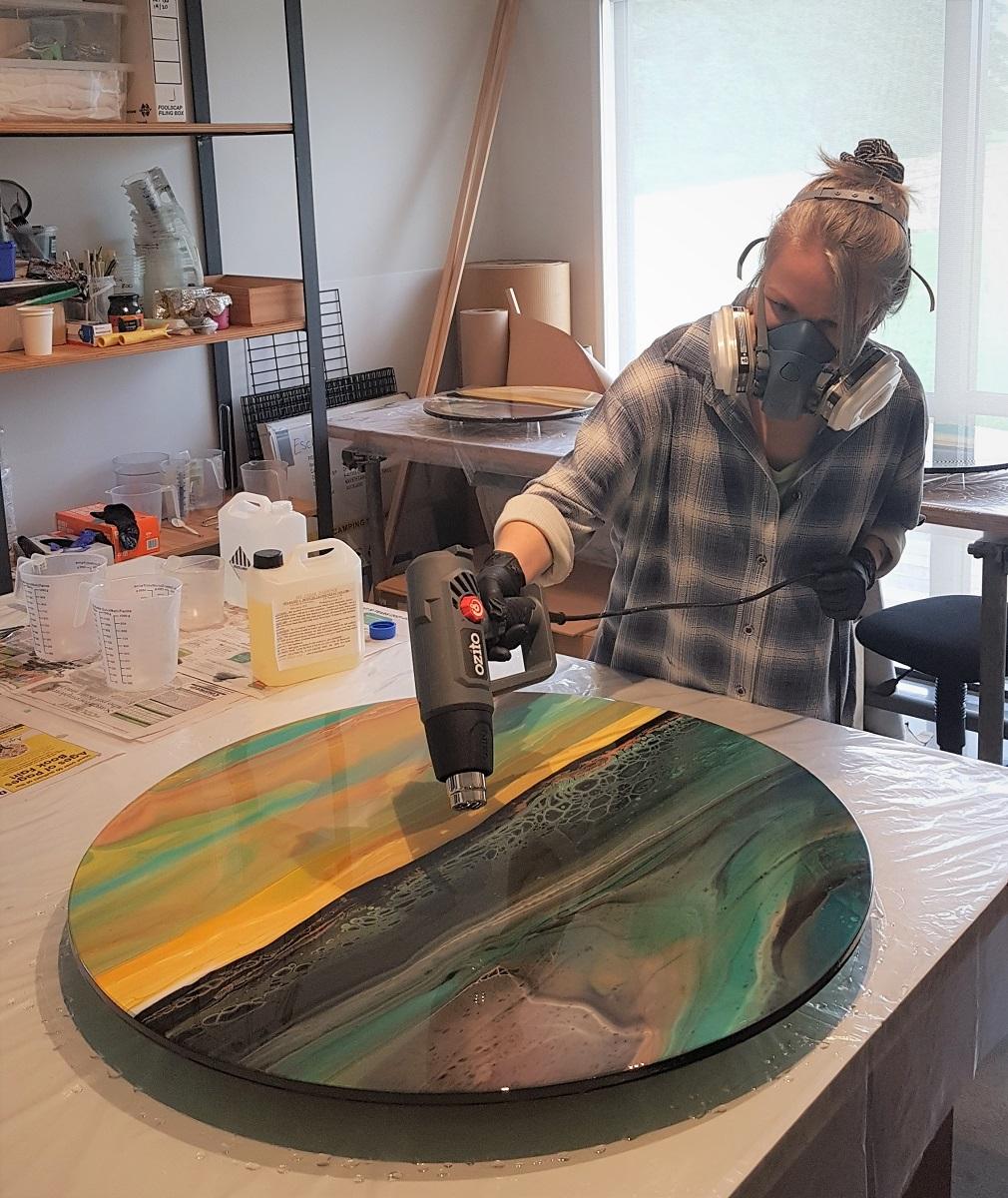 Toni Kingstone - in studio